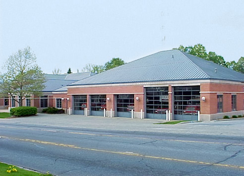 Bays of the Fremont Fire Department