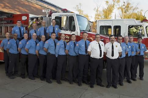 Fremont Fire Department members